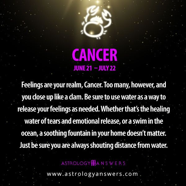 cancer and aquarius Compatibility - The Cons