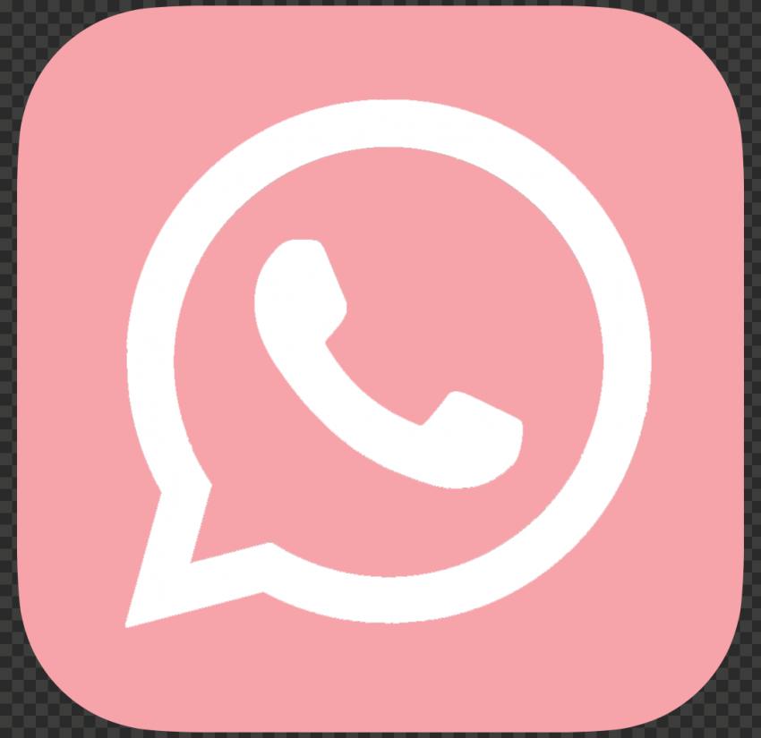 Hd Pink White Whatsapp Wa Whats App Square Logo Icon Png Square Logo Logo Icons Logos