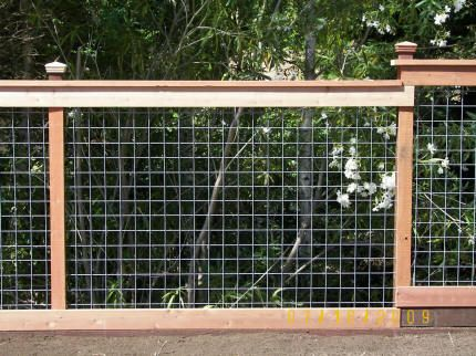 Fence Construction Questions Construction Contractor Talk Wire Mesh Fence Fence Design