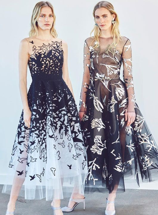 f8e9afbe1e9 The Ultimate B W Dresses with Breathtaking Embroideries