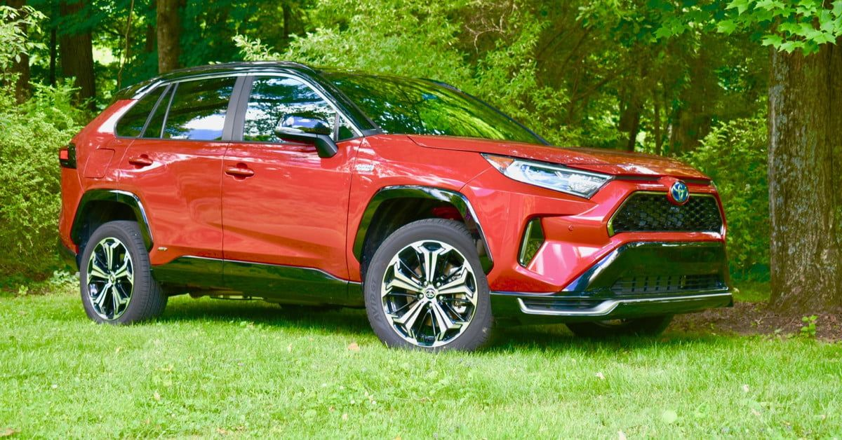 2021 Toyota Rav4 Prime Xse Review Fast And Frugal Digital Trends Toyota Prius Toyota Prius Prime Toyota