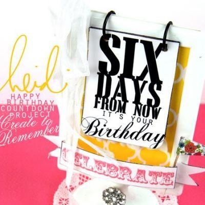 Birthday Countdown Birthday Sayings Birthday Countdown
