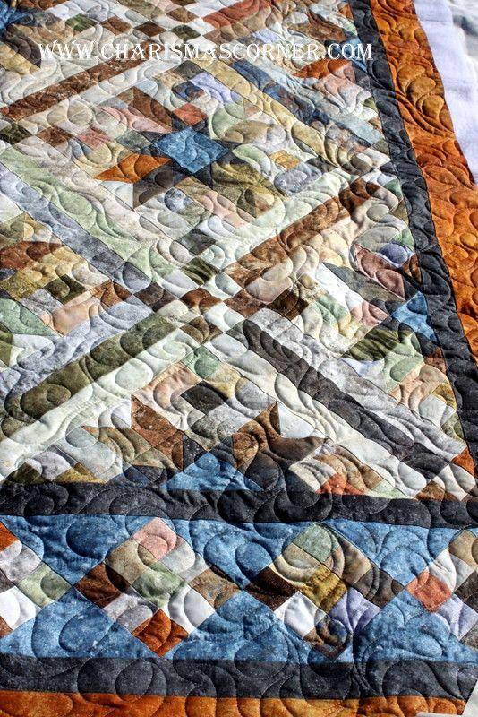smokey river quilt | Stuff I want to make | Pinterest | Keepsake ... : smokey river quilt kit - Adamdwight.com