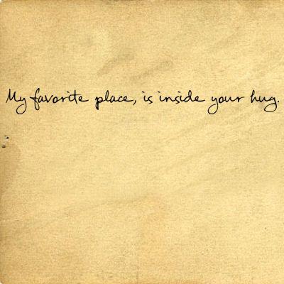 a favorite place