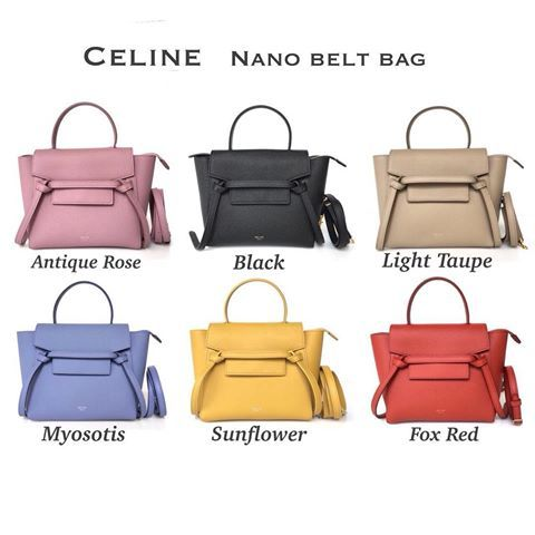 4b3a5a7bdcb09 Image result for celine nano belt bag antique rose