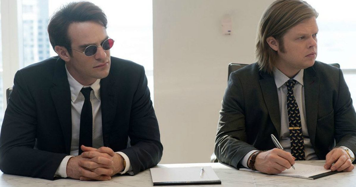 'Daredevil' Cast Photos Officially Released by Marvel -- Marvel has officially released cast photos from Netflix's upcoming 'Daredevil' series, featuring cast members Charlie Cox and Rosario Dawson. -- http://www.movieweb.com/marvel-daredevil-netflix-series-cast-photos