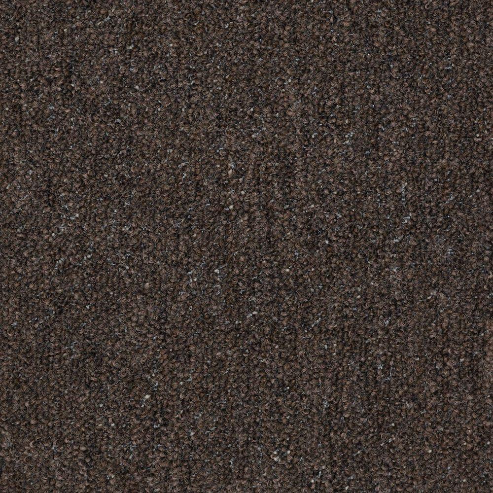 Trafficmaster Viking Color Tapestry Loop 12 Ft Carpet 0701649705 The Home Depot Residential Flooring Brown Carpet Color