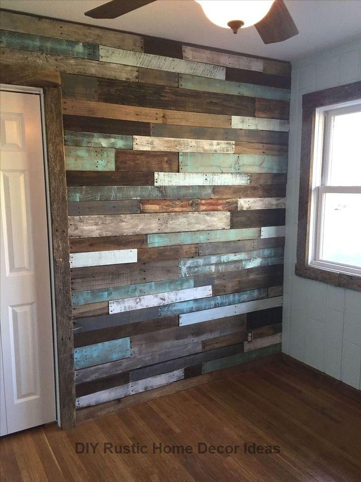 Amazing Rustic Kitchen Island Diy Ideas Diyhomedecor Rusticdecoration In 2020 Wood Wall Bathroom Diy Pallet Wall Wood Pallet Wall