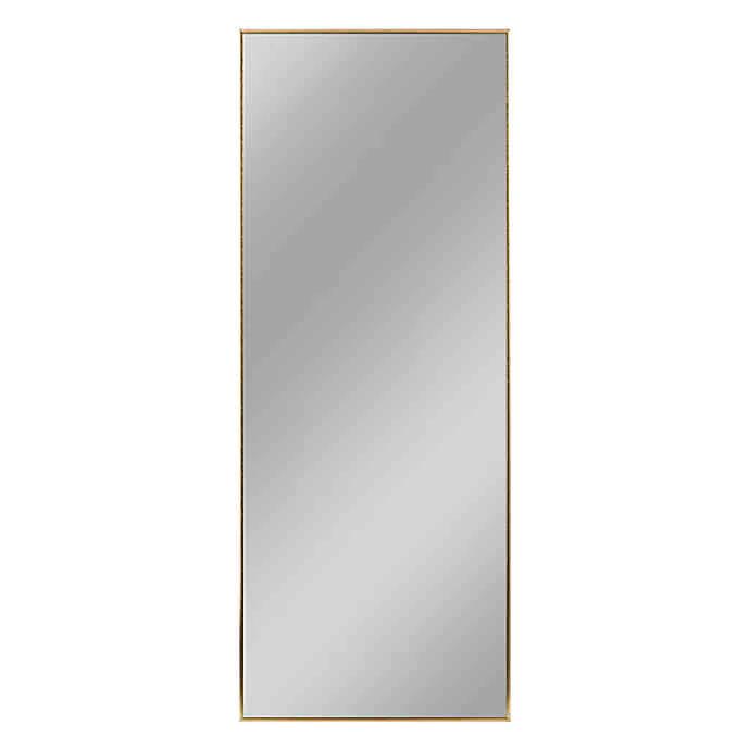 Aluminum Alloy Full Length Floor Mirror In 2020 Floor Mirror Full Length Floor Mirror Mirror