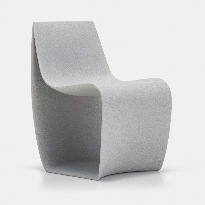 Sedie e poltrone da esterno e da interno, monomateriche e dal design ...