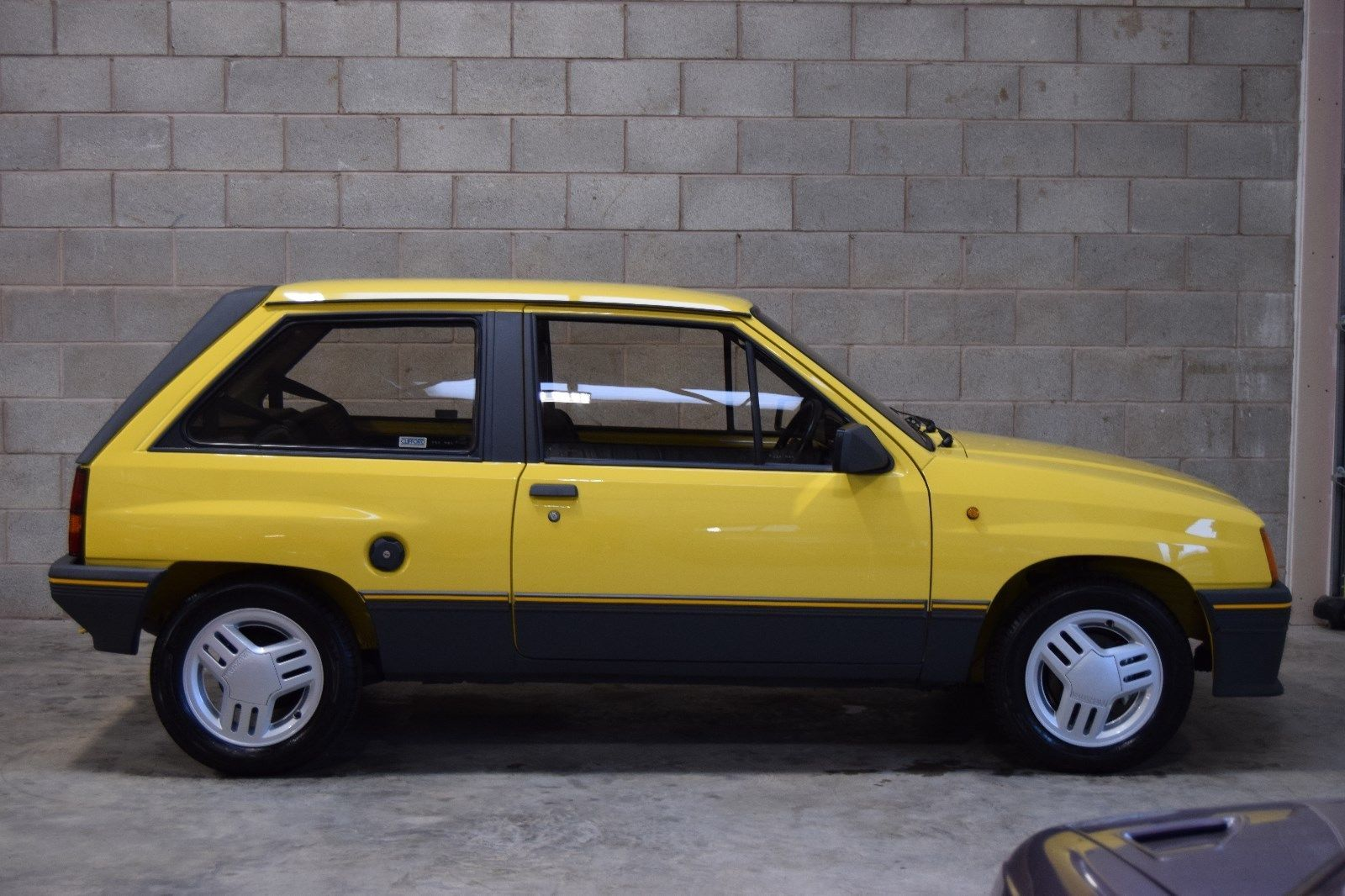 eBay 1986 Vauxhall Nova 1.3 SR, Jamaica Yellow...This Car