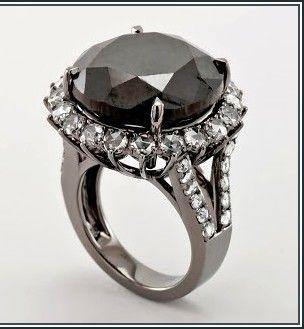 Tremendous Black Diamond Engagement Rings Carrie Bradshaw More ...