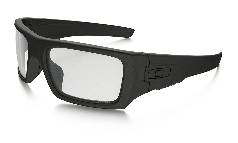 b4b69a539d102 ... new arrivals oakley industrial det cord sunglasses matte black clear  one size 80a01 cef8c