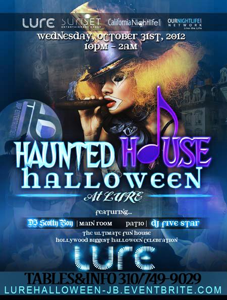 Dj Scotty Boy Haunted House Halloween Lure 10 31 12 Halloween Haunted Houses Haunting Haunted House