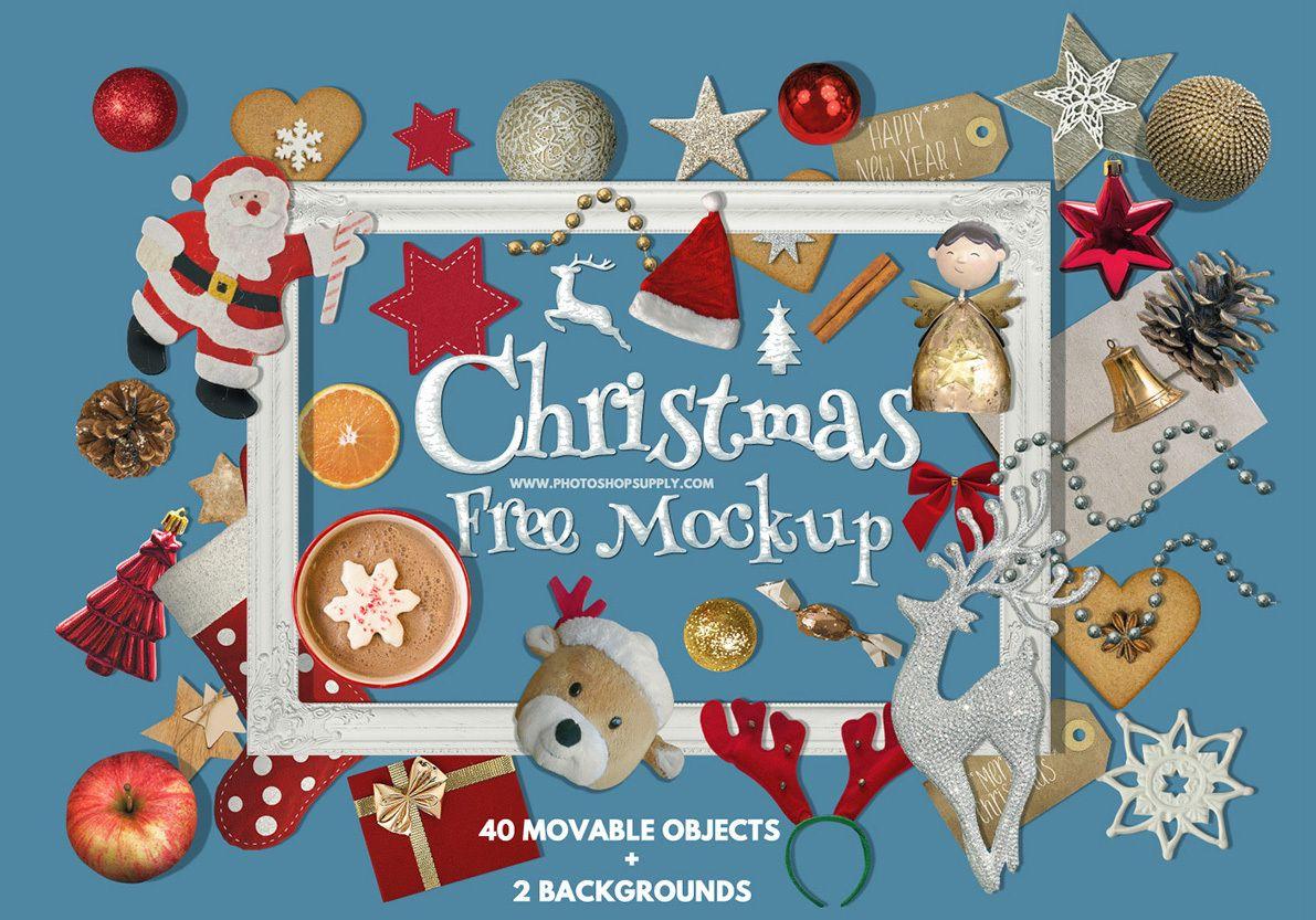 Free Christmas Mockup Photoshop Supply Christmas Card Online Free Christmas Greetings Free Online Christmas Cards