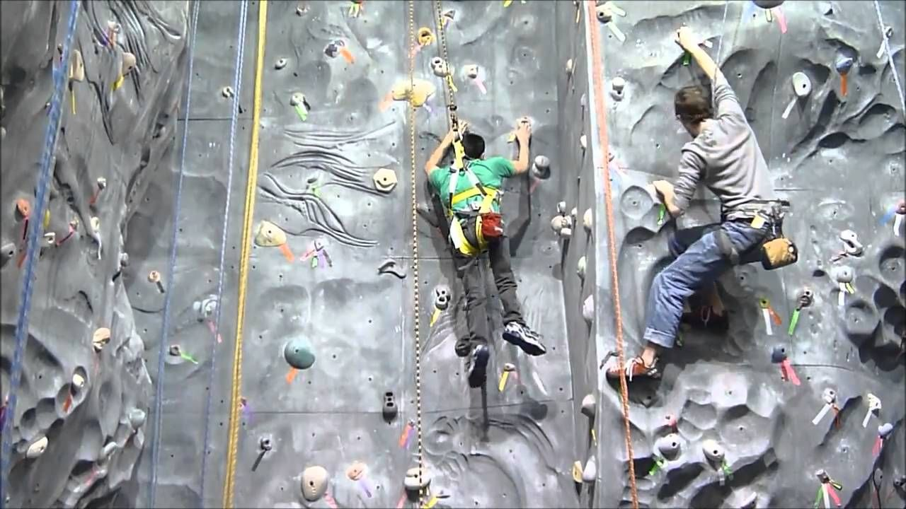 Pinterest Post 2, choice:I love this video! It shows that a person who uses a wheel chair does not need legs to rock climb. I took a rock climbing class at CSUF and my instructor would always emphasize the fact that your legs are just there to guide yourself on the wall, but your upper body is there to carry yourself up the wall.
