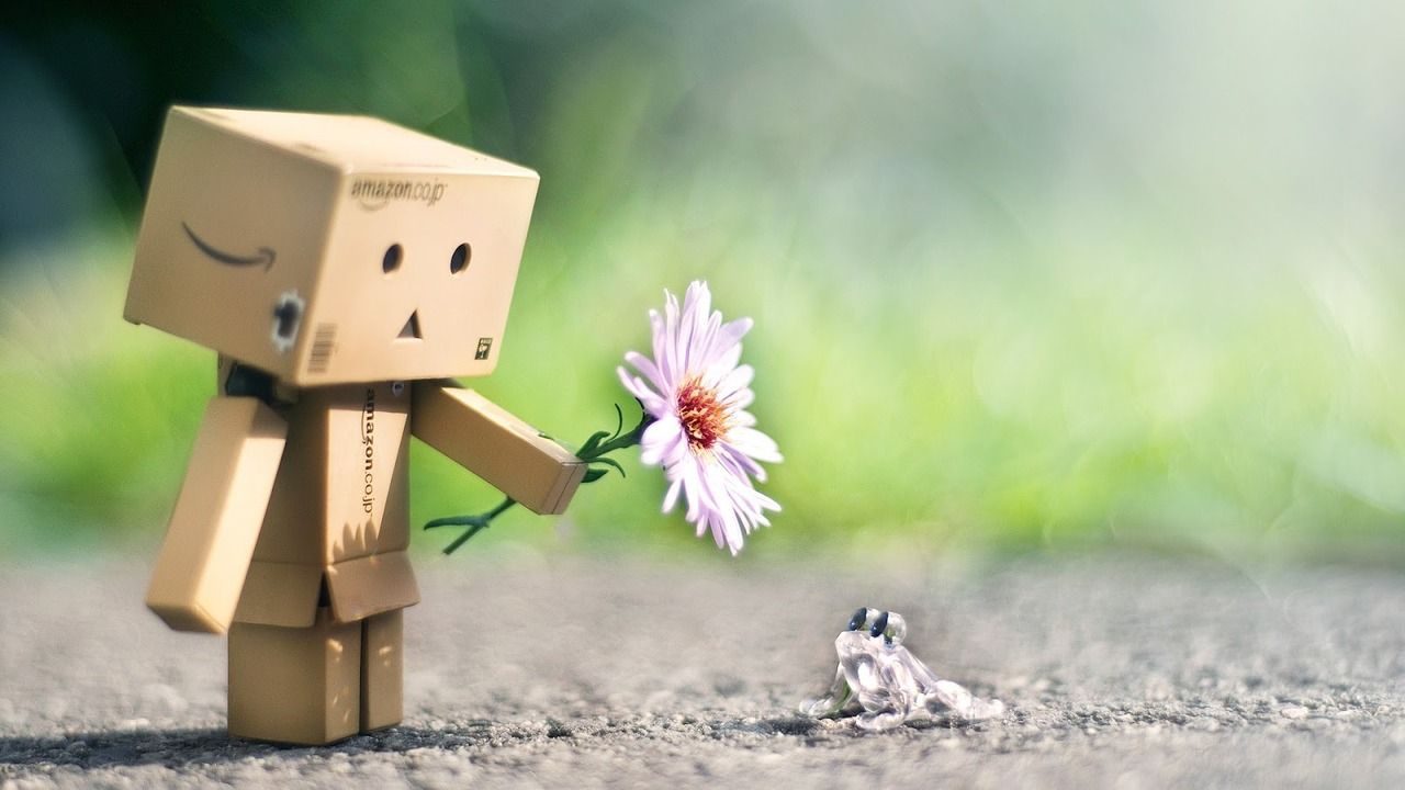 Prince Charming Box People Cute Wallpapers Danbo Friendship Wallpaper