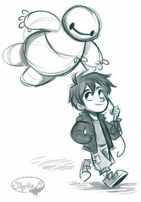 Grandes Heroes Dibujos Dibujos Kawaii Dibujos Increibles