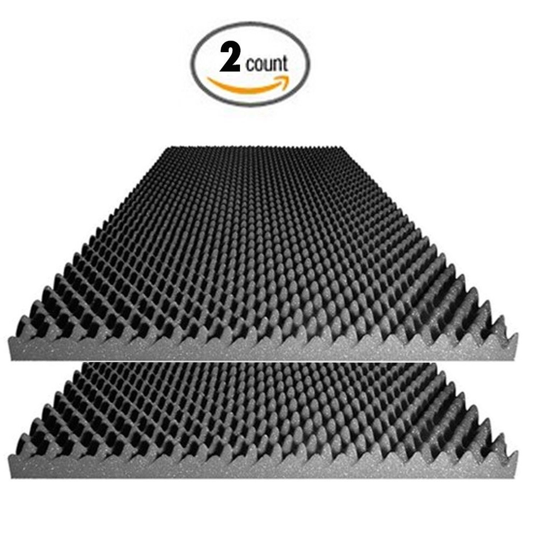 Acoustic Foam Egg Crate Panel Studio Soundproofing Foam