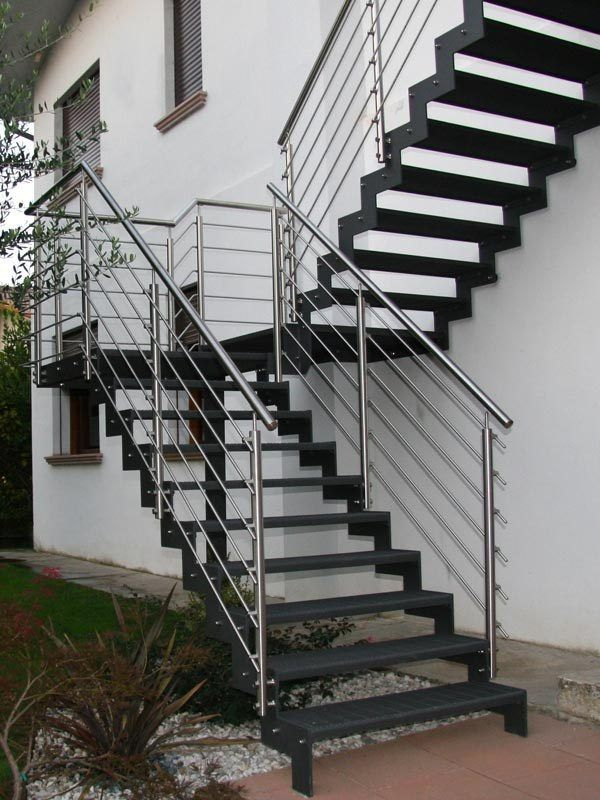 10 Creative Ideas For Outdoor Stairs Exterior Stairs Outdoor   Staircase Designers Near Me   Baluster   Stair Treads   Staircase Ideas   Metal   Stair Railing