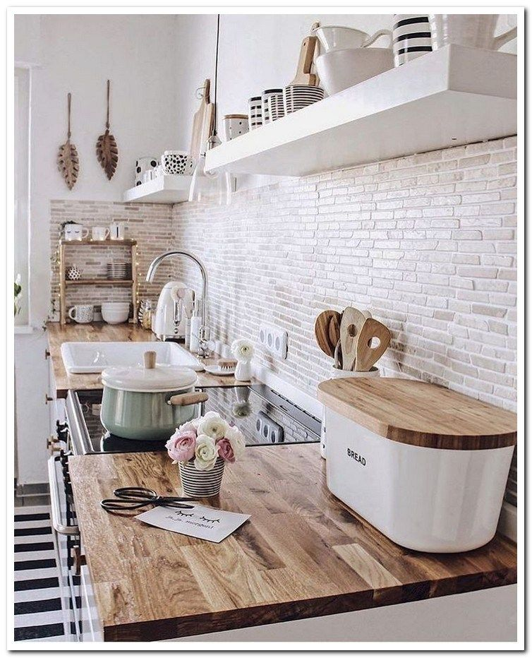 46 Fabulous Country Kitchen Designs Ideas: Top 46 Small Kitchen Ideas Design On A Budget 43