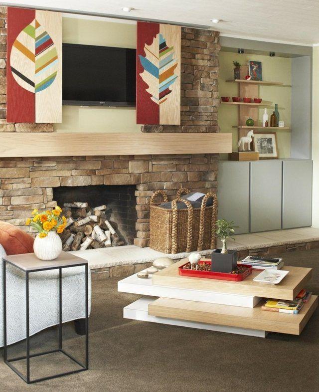 Wohnzimmer schöne Einrichtungsideen Fernseher | Wohnen | Pinterest | TVs