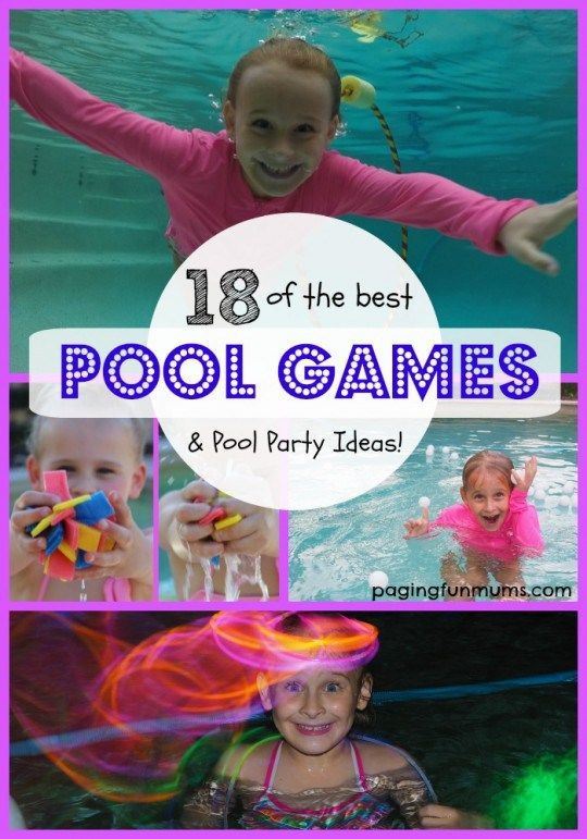 18 of the best swimming pool games fun stuff pool - Swimming pool activities for kids ...