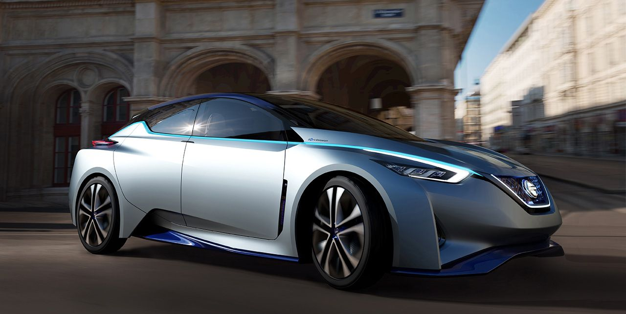 Slated For 2020 A Nissan Ev With 342 Miles Of Range With Images Nissan Leaf Nissan Electric Car Tokyo Motor Show