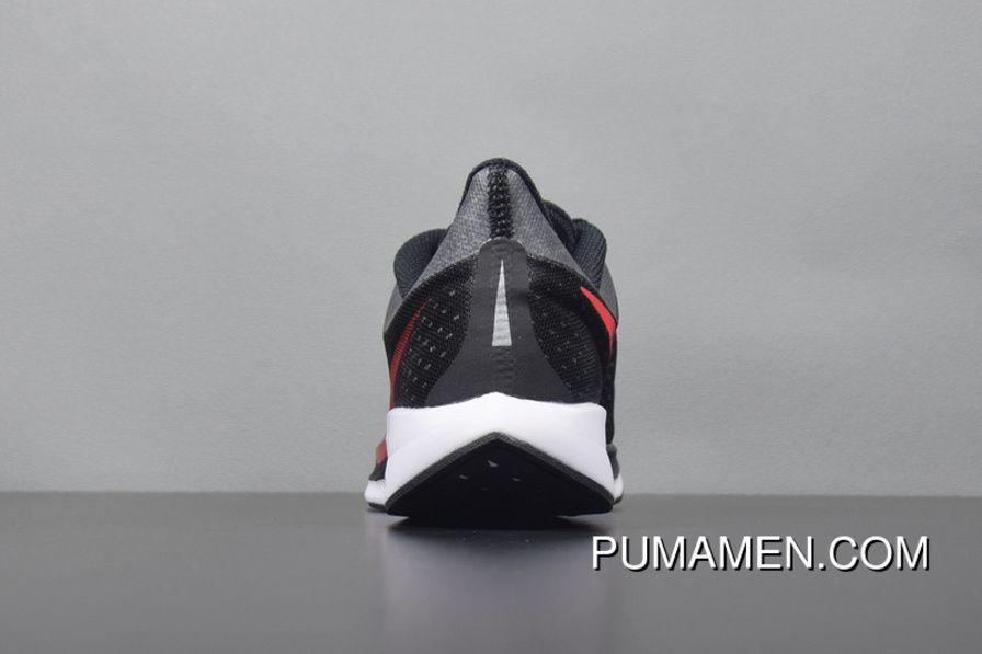 46392da4b01c Nike Air Zoom Pegasus 35 Turbo 2.0 Black Red Mens Running Shoes AJ4114-006  Free Shipping