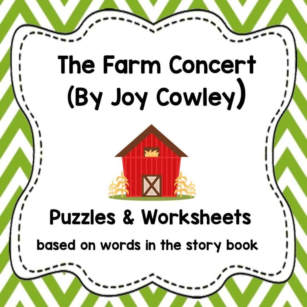 The Farm Concert Worksheet In