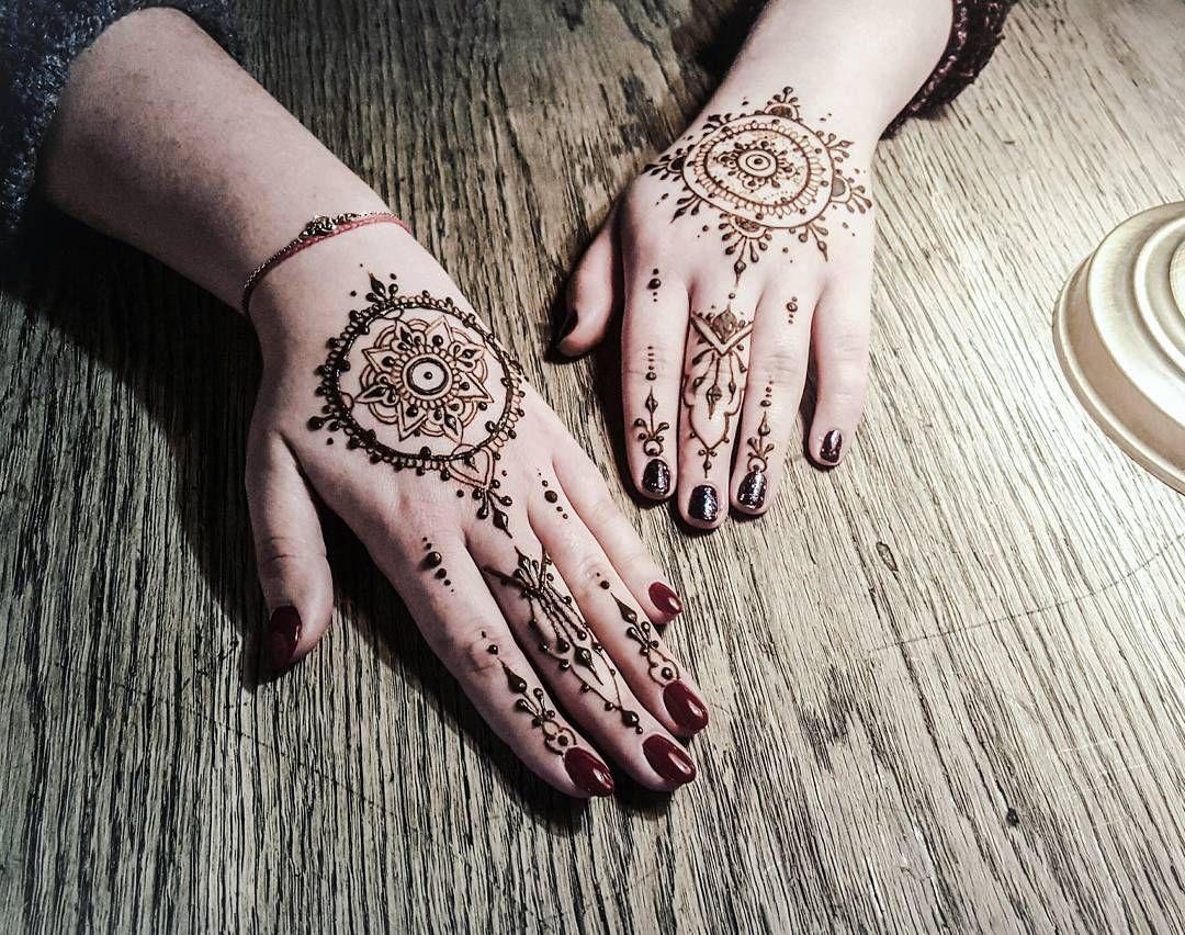 Two Quick Free Hand Mandalas Pretty And Elegant