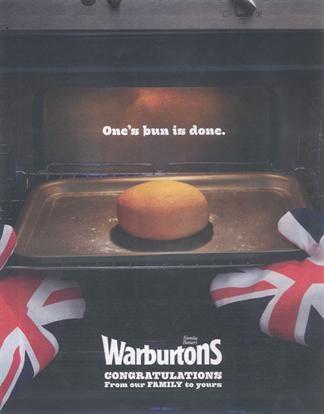 Warburtons - royal baby campaign
