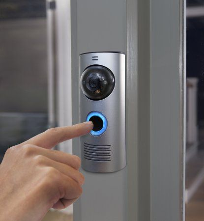 SO AWESOME!!! DoorBot - See and talk to visitors using your smartphones and tablets.…