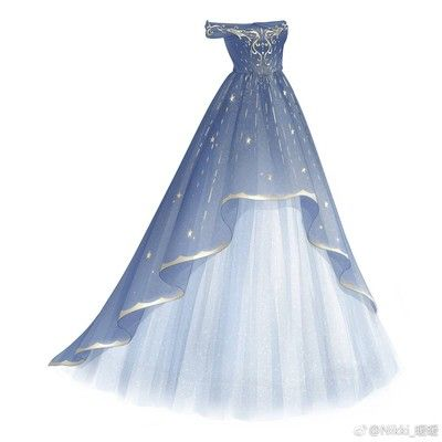 堆糖 美好生活研究所 Dress Drawing Ball Gowns Dresses