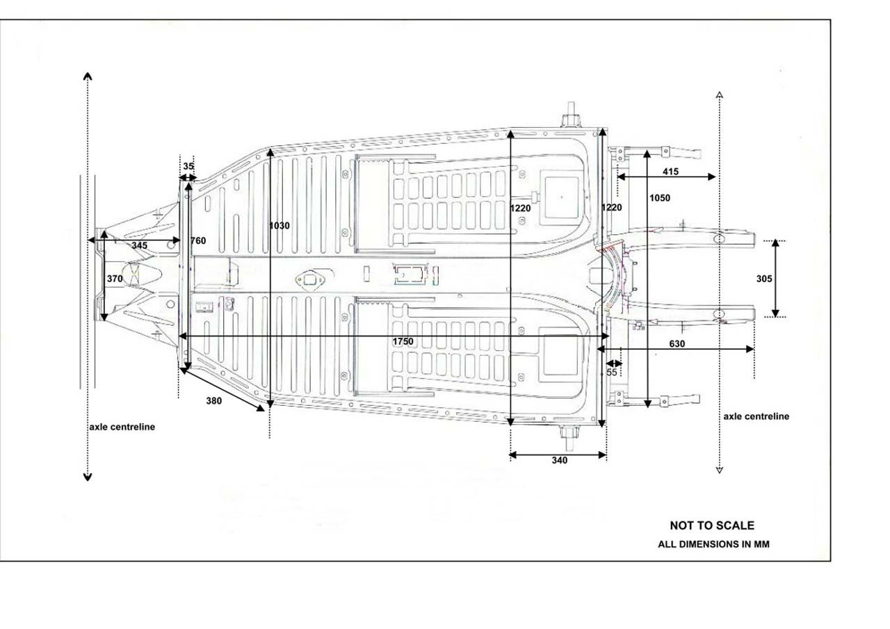 Chassis Gear Linkage Tunnel Length