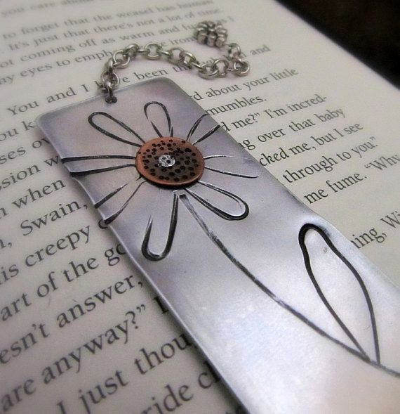 Books & Journals Metal Bookmark Grow Through What you Go Through