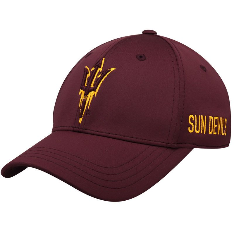 more photos ace41 b1820 Arizona State Sun Devils Top of the World Choice Flex Hat - Maroon