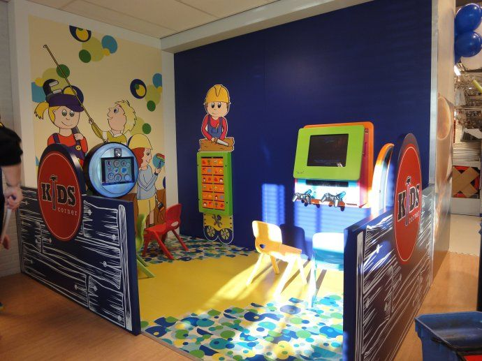 Kids Play Area At Gamma Diy Store Great For Waiting Area