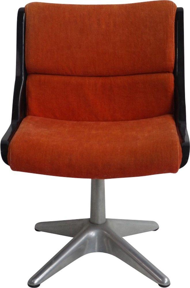 chaise de bureau vintage par kukkapuro pour haimi 1970 fauteuil de bureau design pinterest bureau vintage and bureaus - Chaise De Bureau Vintage