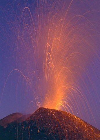Vulcano Etna Vulkanen Italie Natuur
