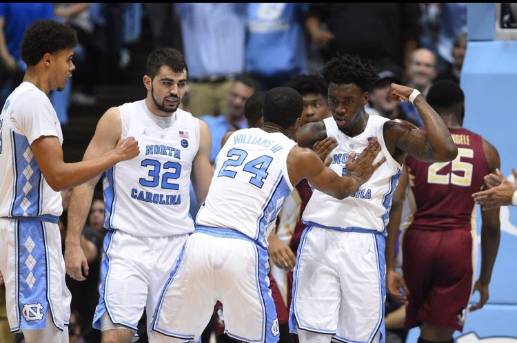 Pin by Lisa Haggins on .UNC College basketball teams