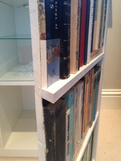 Wonderful How To Make A Secret Bookshelf Door! This Could Be Adapted To Make A Faux  Library Look In Your Room! | DU Dorms | Pinterest | Bookshelf Door, Doors  And Room