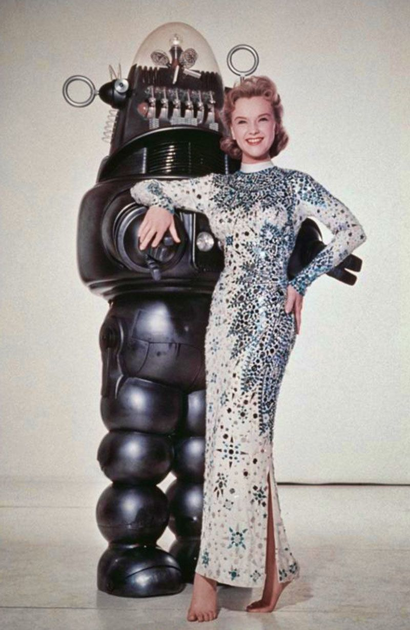 "Anne Francis en ""Planeta Prohibido"", 1956 | Honey West, Anne Francis ..."