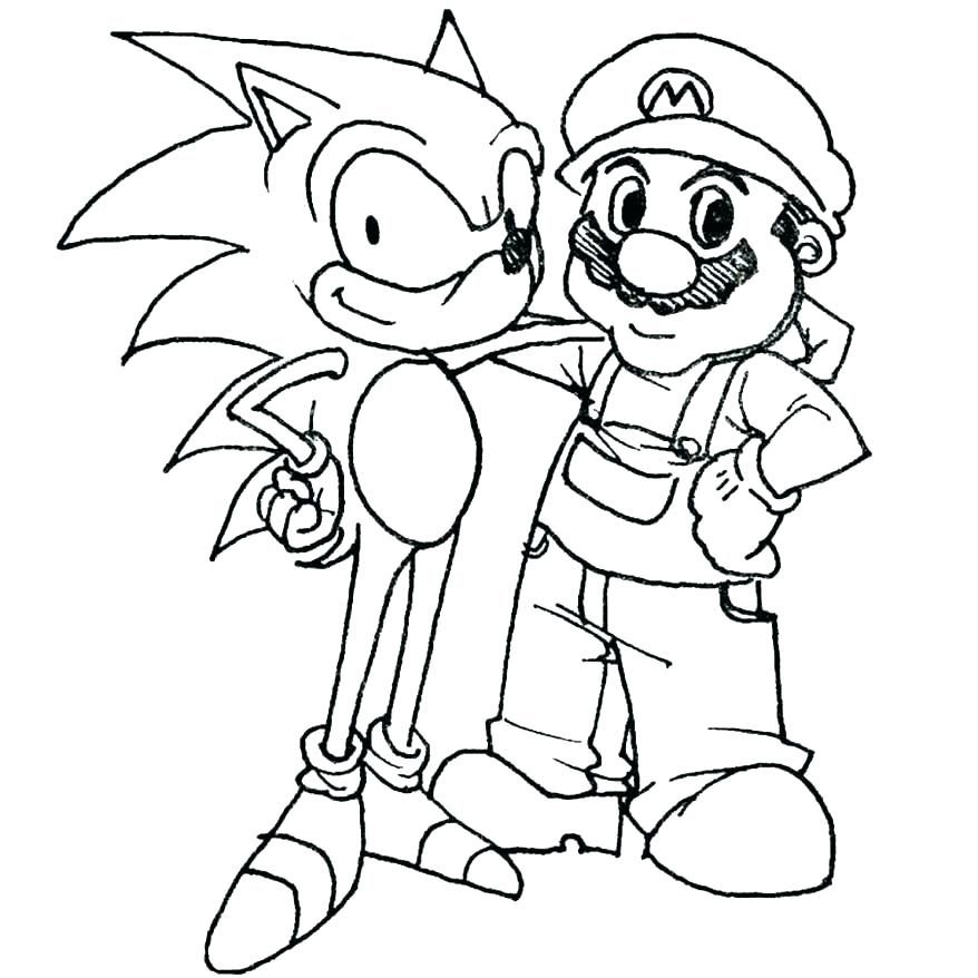 Super Mario Coloring Page Cool Photography Kart Coloring Page Size