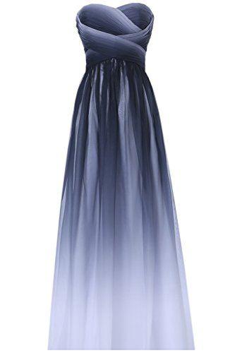Gorgeous Bride Elegant Lang Traegerlos Empire Chiffon Abe Https Www Amazon De Dp B011kj5a2w Ref Cm Sw R Pi Dp X Xaobybdf Abendkleid Kleider Schone Kleider