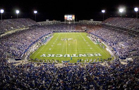 Power Ranking Every Bcs College Football Stadium University Of Kentucky Football Kentucky Football Kentucky Football Game