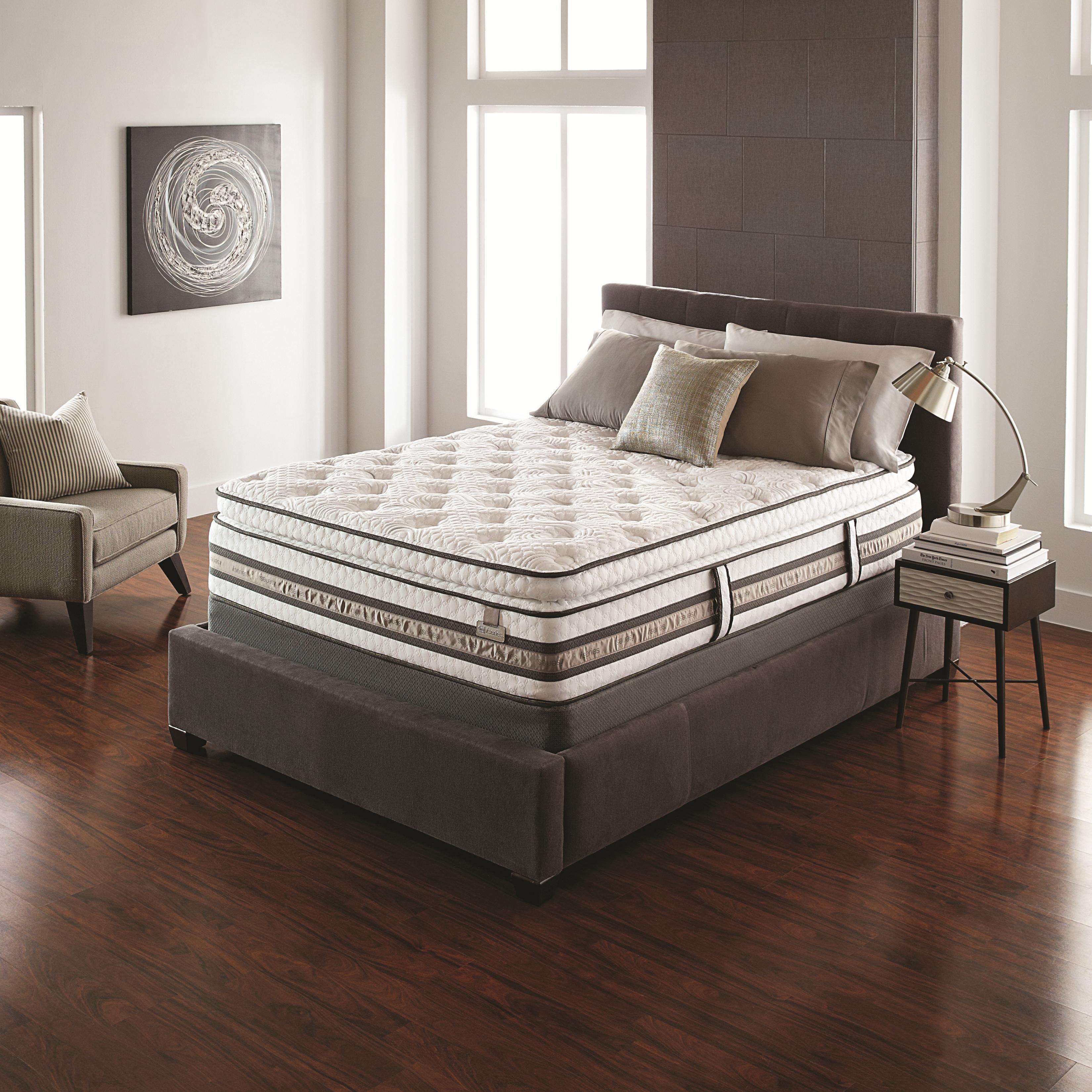 iSeries Merit Queen Super Pillow Top Mattress by Serta