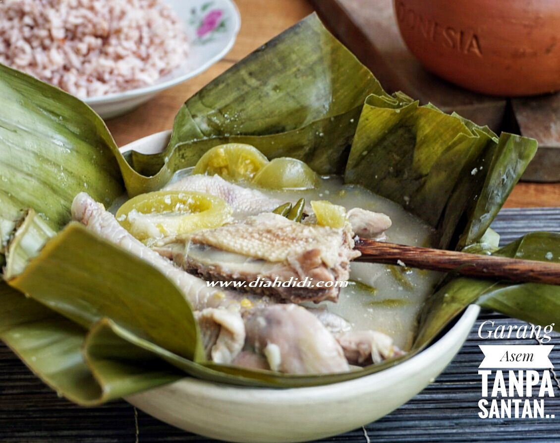 Diah Didi S Kitchen Garang Asem Ayam Tanpa Santan Resep Masakan Makanan Dan Minuman Masakan