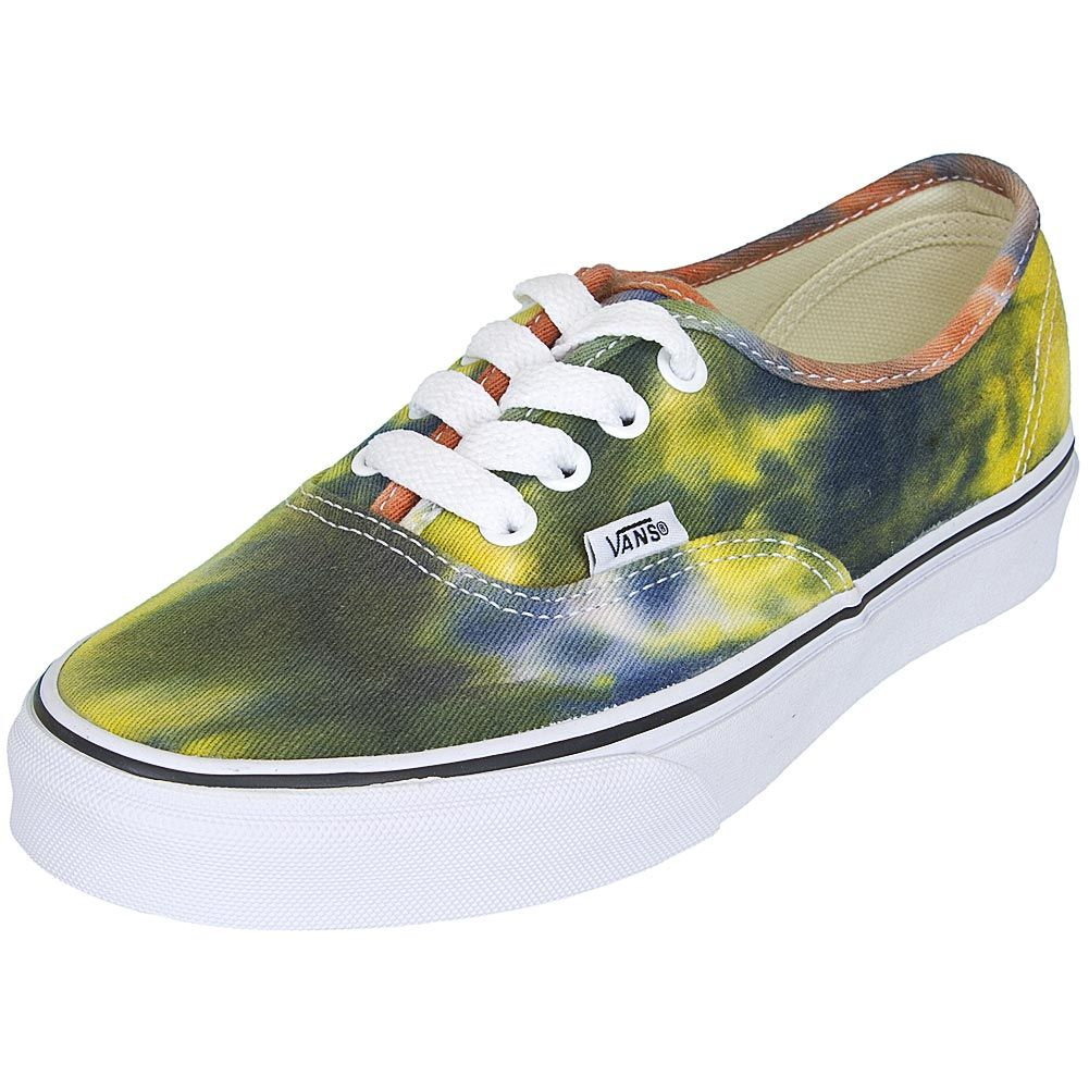 Vans Authentic Tie Dye Damen Sneaker blauorange