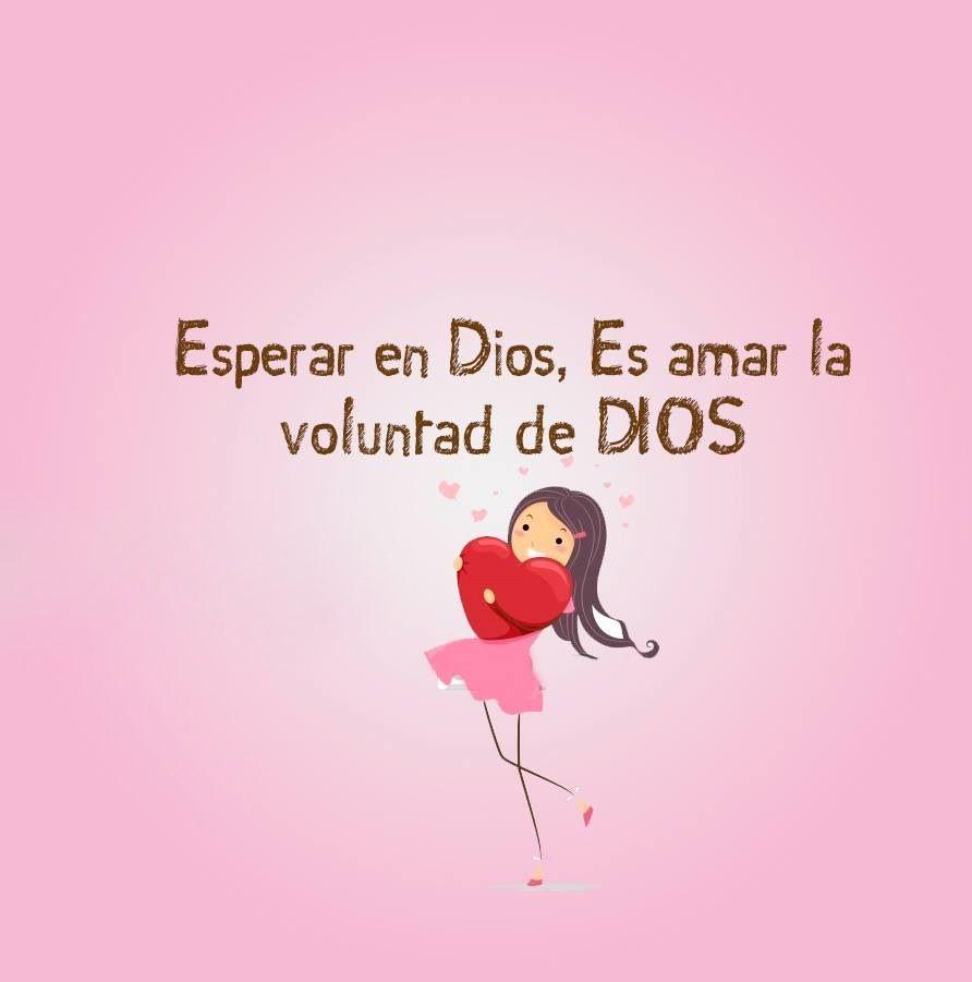 Esperar en Dios, es amar la voluntad de Dios | obediencia ...